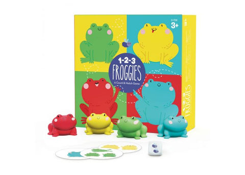 1-2-3 Froggies Count & Match Game
