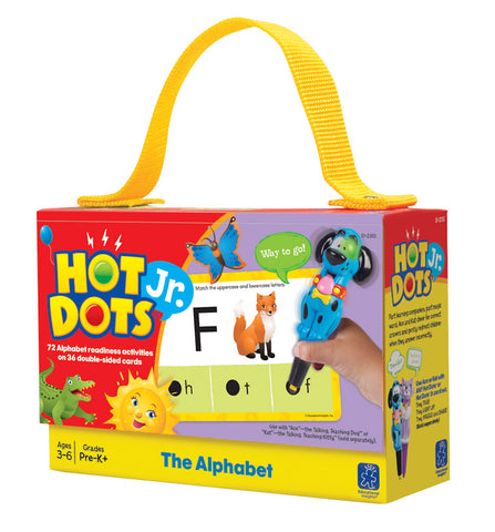 Alphabet Hot Dots Jr Card Set