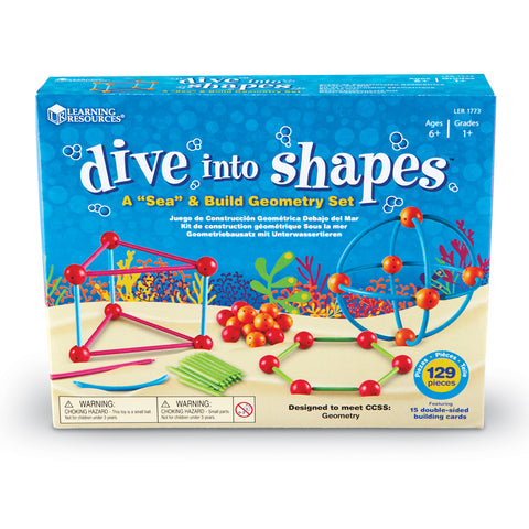 Dive Into Shapes Geometry Set