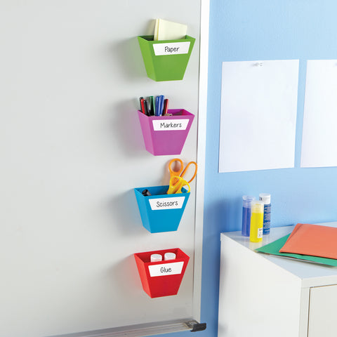 Storage Bins Magnetic 4Ct