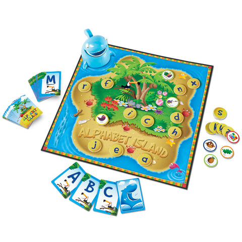 Alphabet Island Letters & Sounds