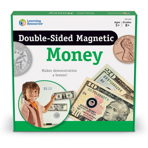 Magnetic Money Double-Sided