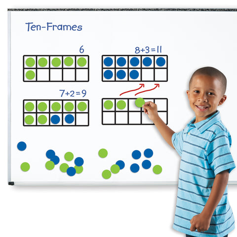 Magnetic Ten Frame Set