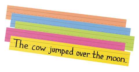 Sentence Strips Super Brights 3X