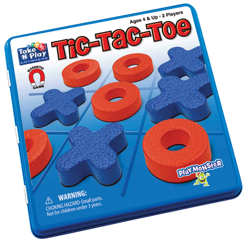 Tic Tac Toe Magnetic Game