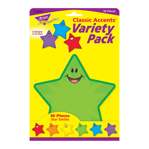 Star Smiles Accents Variety Pack