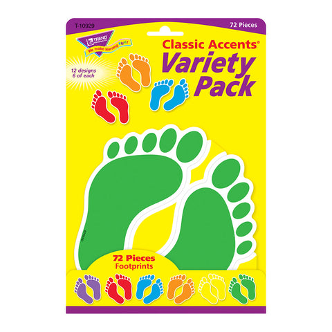 Footprints Accents Variety Pack