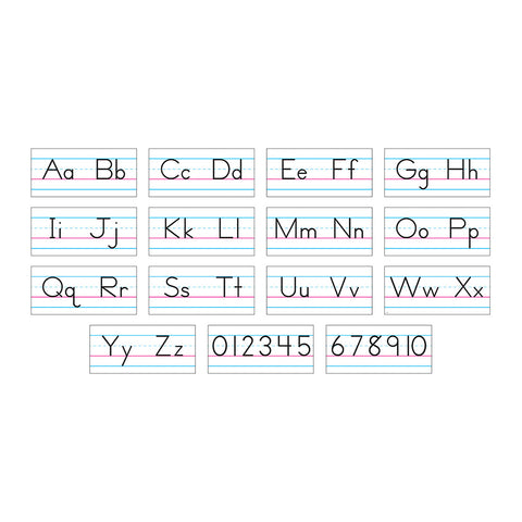 Manuscript Basic Alphabet Bb Set