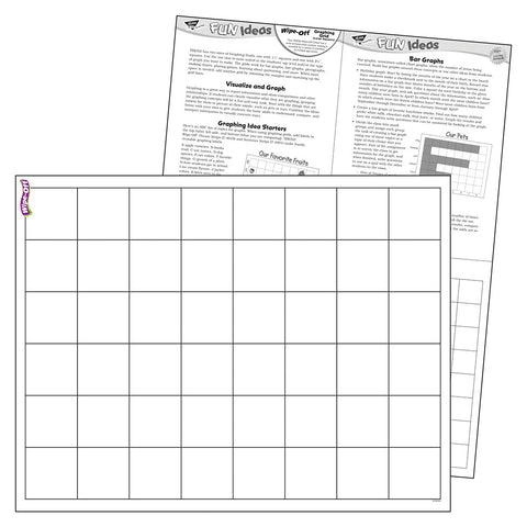 Graphing Grid Large Squares Wipe