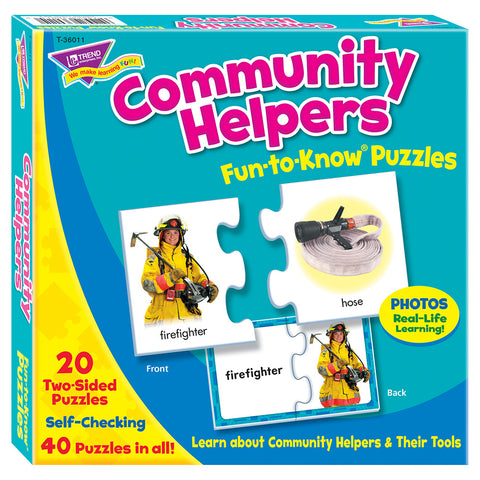 Community Helpers Fun-To-Know Pu