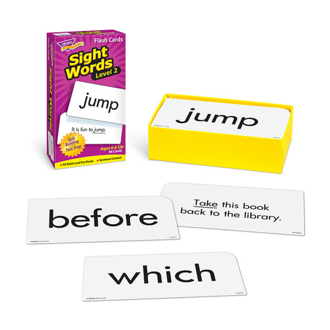 Sight Words Level 2 Flashcards