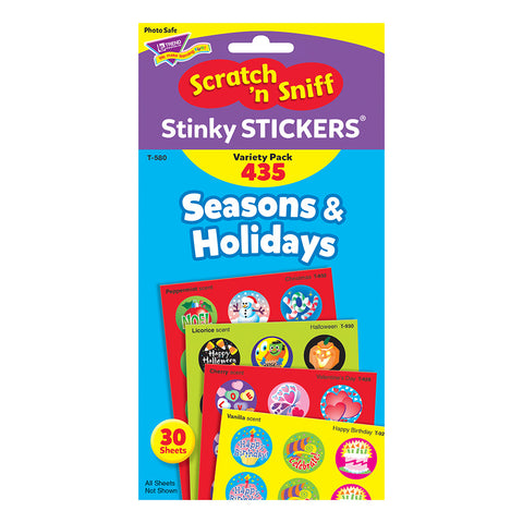 Seasons & Holiday Stinky Sticker