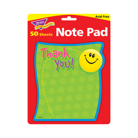 Thank You Notepad