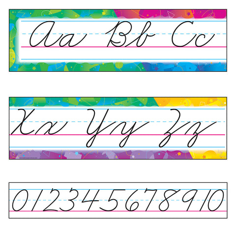 Color Splash Cursive Bb Set