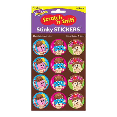 Scoop Squad Stinky Stickers