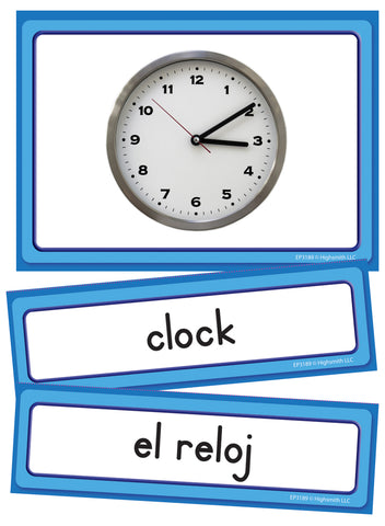 Spanish/English Classroom Labels