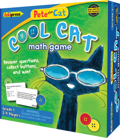 Pete The Cat Cool Cat Math Game