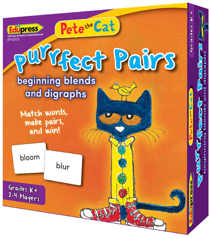 Pete The Cat Purrfect Pairs Game