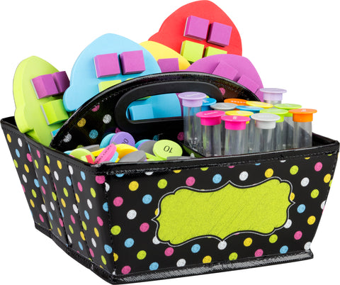 Storage Caddy Chalkboard Brights