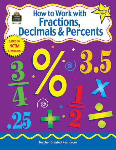 How To Work With Fractions 4-6 B