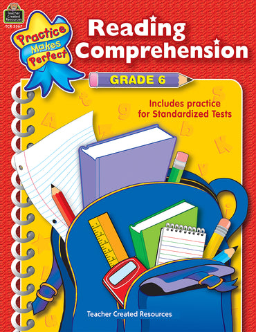 Reading Comprehension 6 Bk