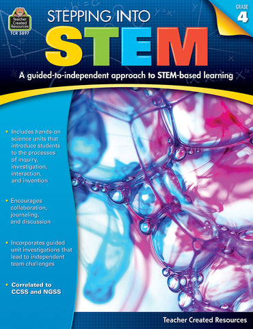 Stepping Into Stem 4 Bk