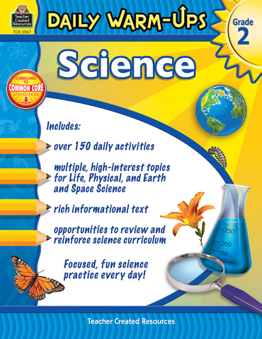 Science Daily Warm Ups 2 Bk