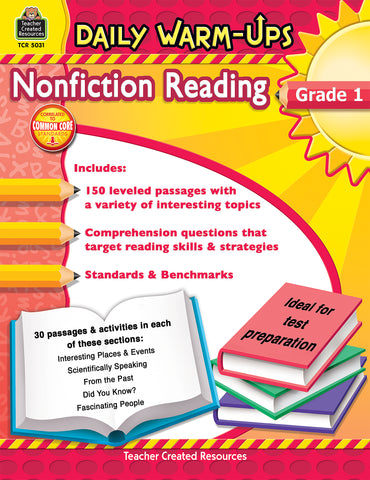 Nonfiction Reading Daily Warm-Up
