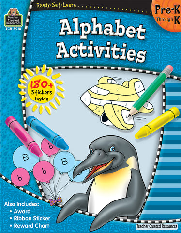 Alphabet Activities Workbook
