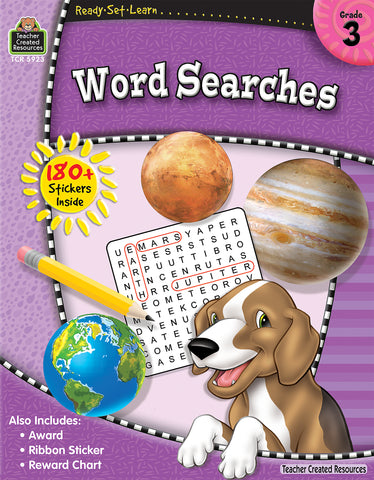 Word Searches 3 Workbook