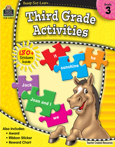 Third Grade Activities Workbook