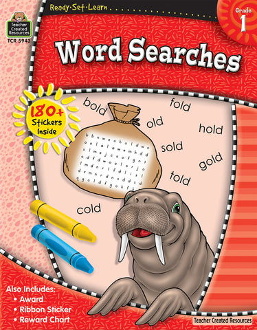 Word Searches Workbook