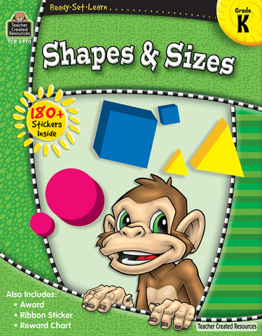 Shapes & Sizes Workbook