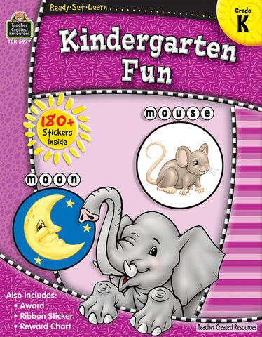 Kindergarten Fun Workbook