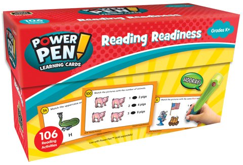 Reading Readiness Power Pen Card