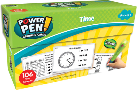 Time Power Pen Cards