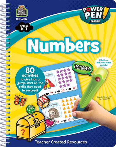 Numbers Power Pen Book