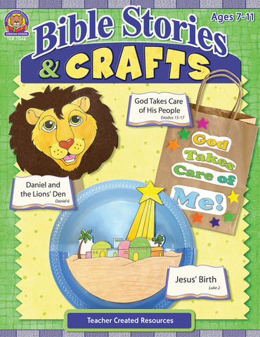 Bible Stories And Crafts Bk