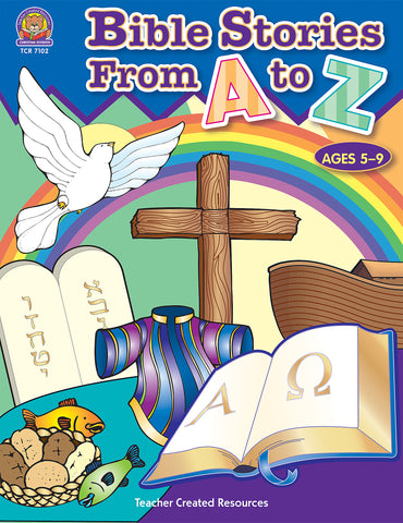 Bible Stories From A To Z Bk