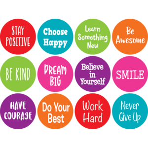 Positive Sayings Carpet Markers