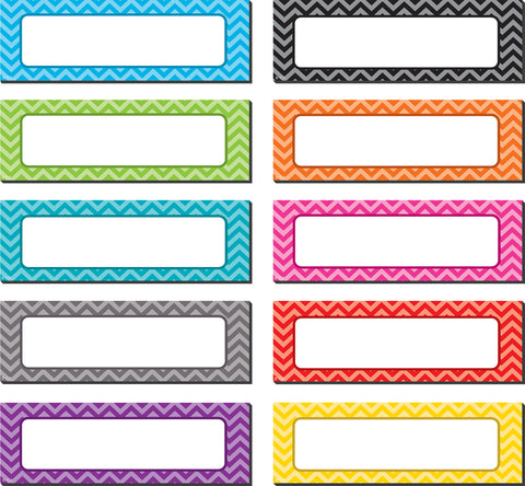 Magnetic Accents Chevron Labels