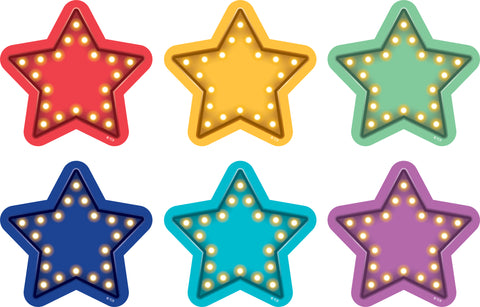 Marquee Stars Spot On Carpet Markers