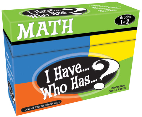 Math I Have Who Has Game
