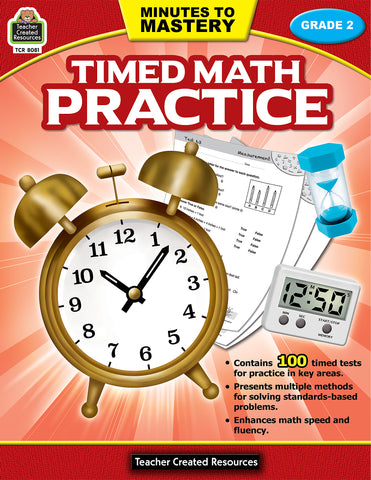 Timed Math Practice 2 Bk