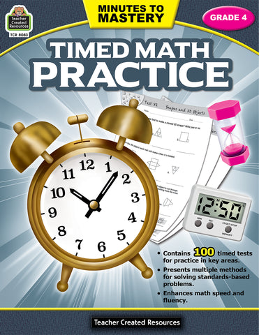 Timed Math Practice 4 Bk