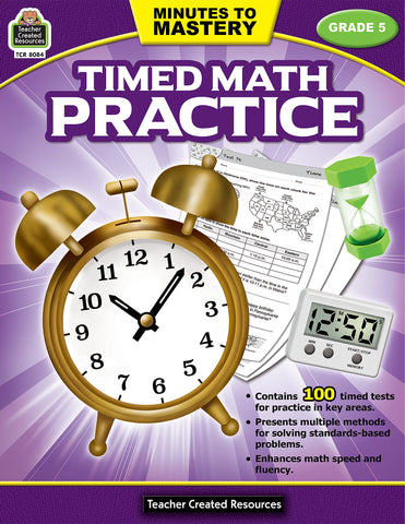 Timed Math Practice 5 Bk