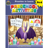 Preschool Activities Practice To Learn