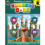 Numbers 0-30 Workbook