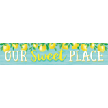 Lemon Zest Our Sweet Place Banner