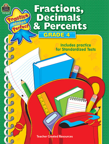 Fractions Decimals & Percents 4